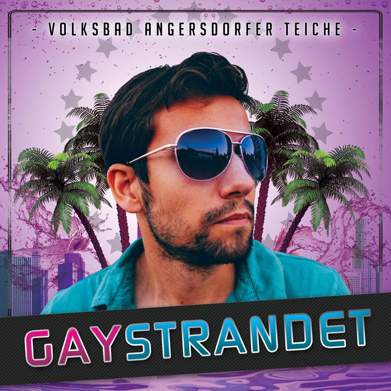 gaySTRANDET 2016 - Angersdorfer Teiche - Beachparty für Schwule und Lesben