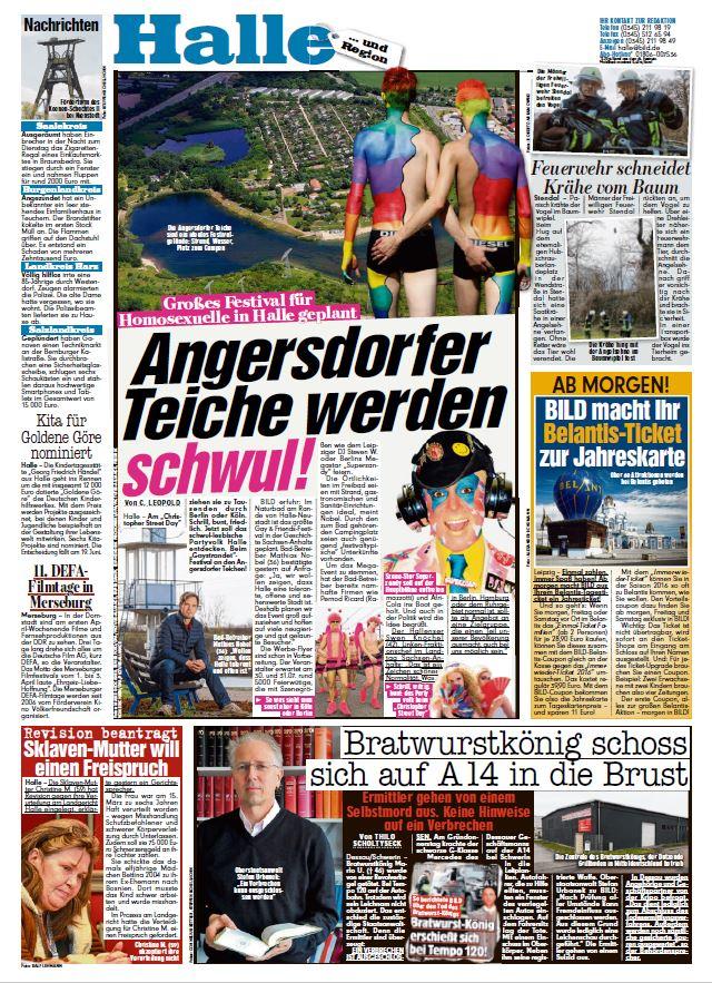 Homosexuelle in Halle - Bild Halle